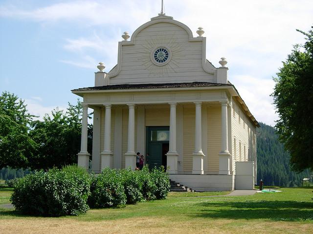Old Mission Chapel  Photo by Hugh Millward/CCA-SA 2.0