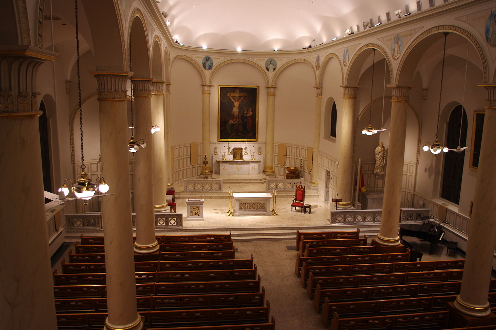St Joseph Proto-Cathedral - St Joseph Proto-Cathedral is the original seat of the Bishop of the Midwest. When the Diocese of Bardstown was founded in 1808 as the head of Catholicism in the territories that were not yet states, (including Fort Wayne and South Bend).