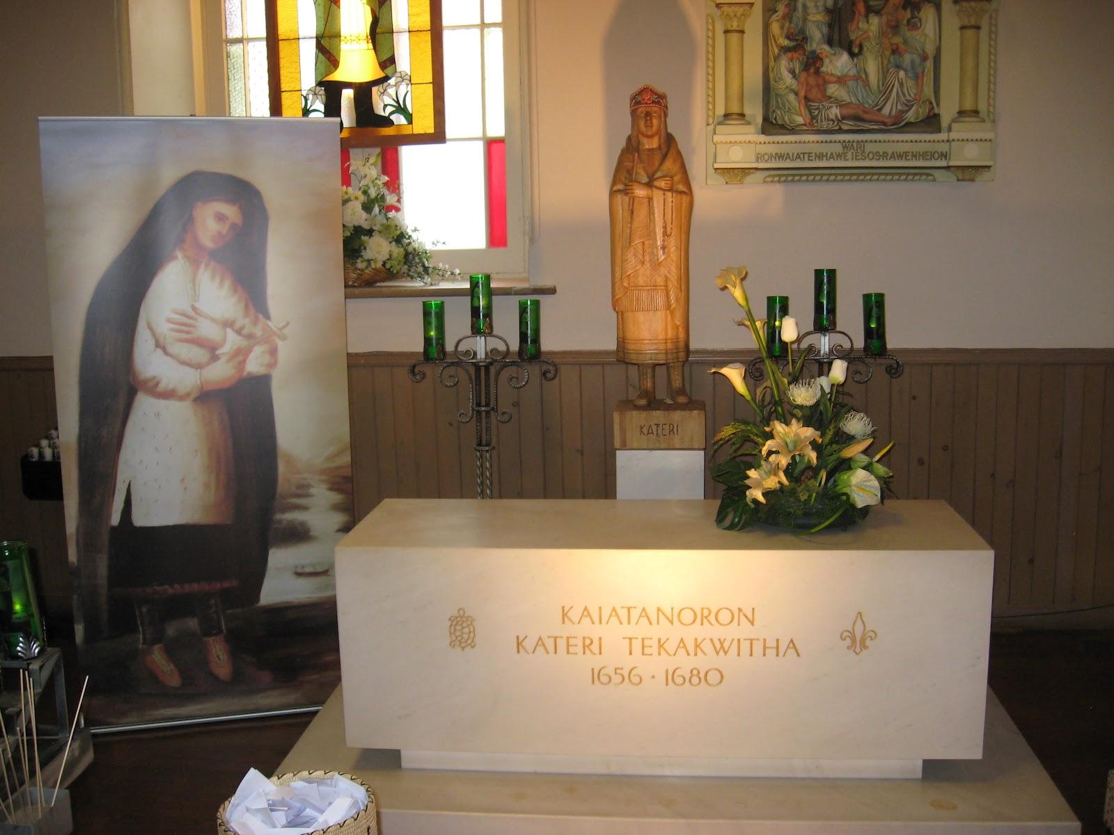 Tomb of St. Kateri