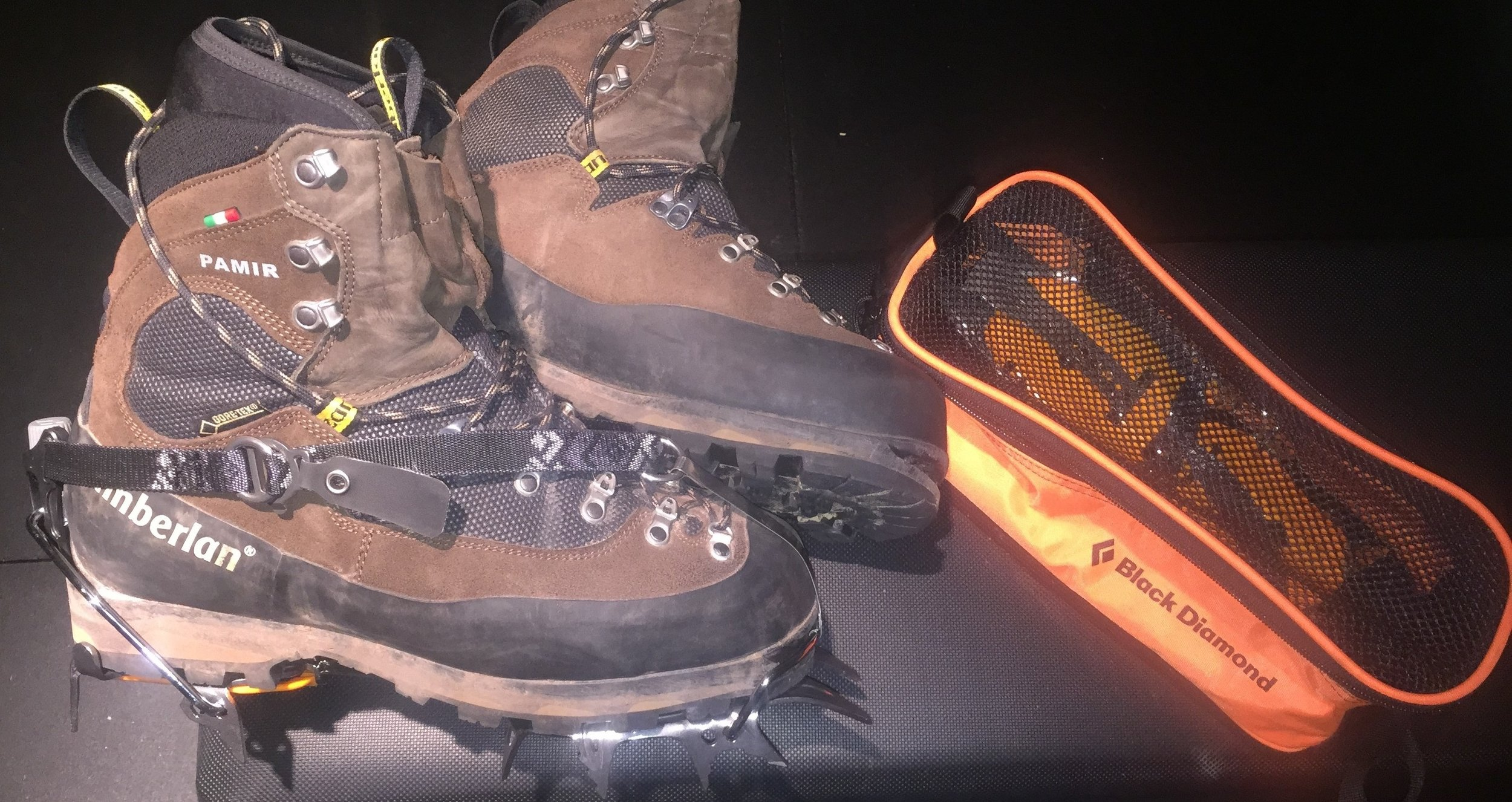 The Pamirs are one of several technical mountaineering boot models that are marketed to hunters, but may leave the buyer feeling slighted. Unless every waking moment of the hunt is spent in crampons, this boot is far too rigid.
