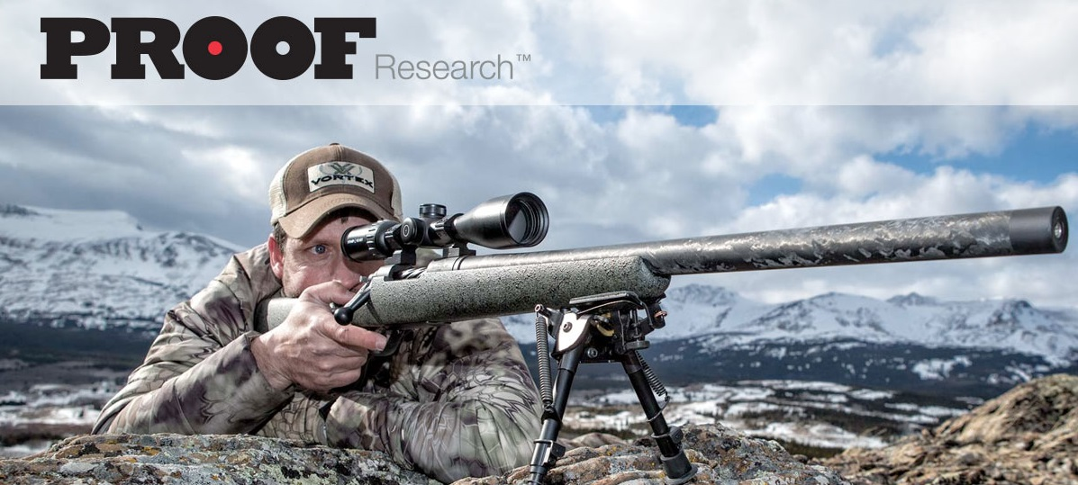 A PROOF Research Summit rifle in action.