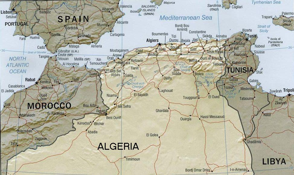 The Barbary Coast of northern Africa