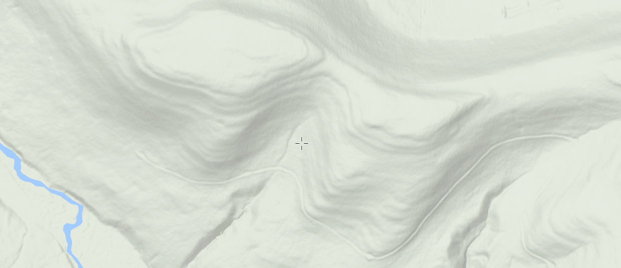 MappingSupport.com can show you terrain details that a topo map can't.