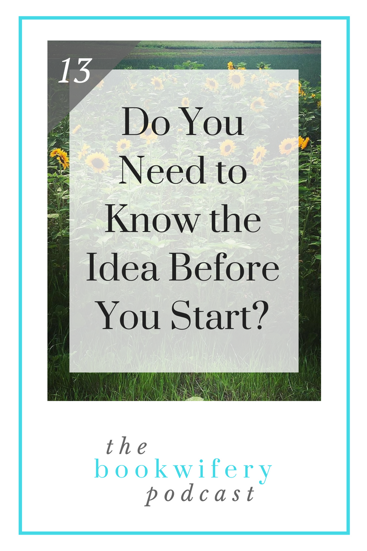 Do You Need to Know the Idea Before You Start?