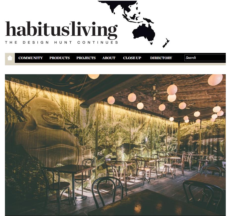 JUNE 2015  | HABITUS LIVING - CHINTA RIA DINING ROOM