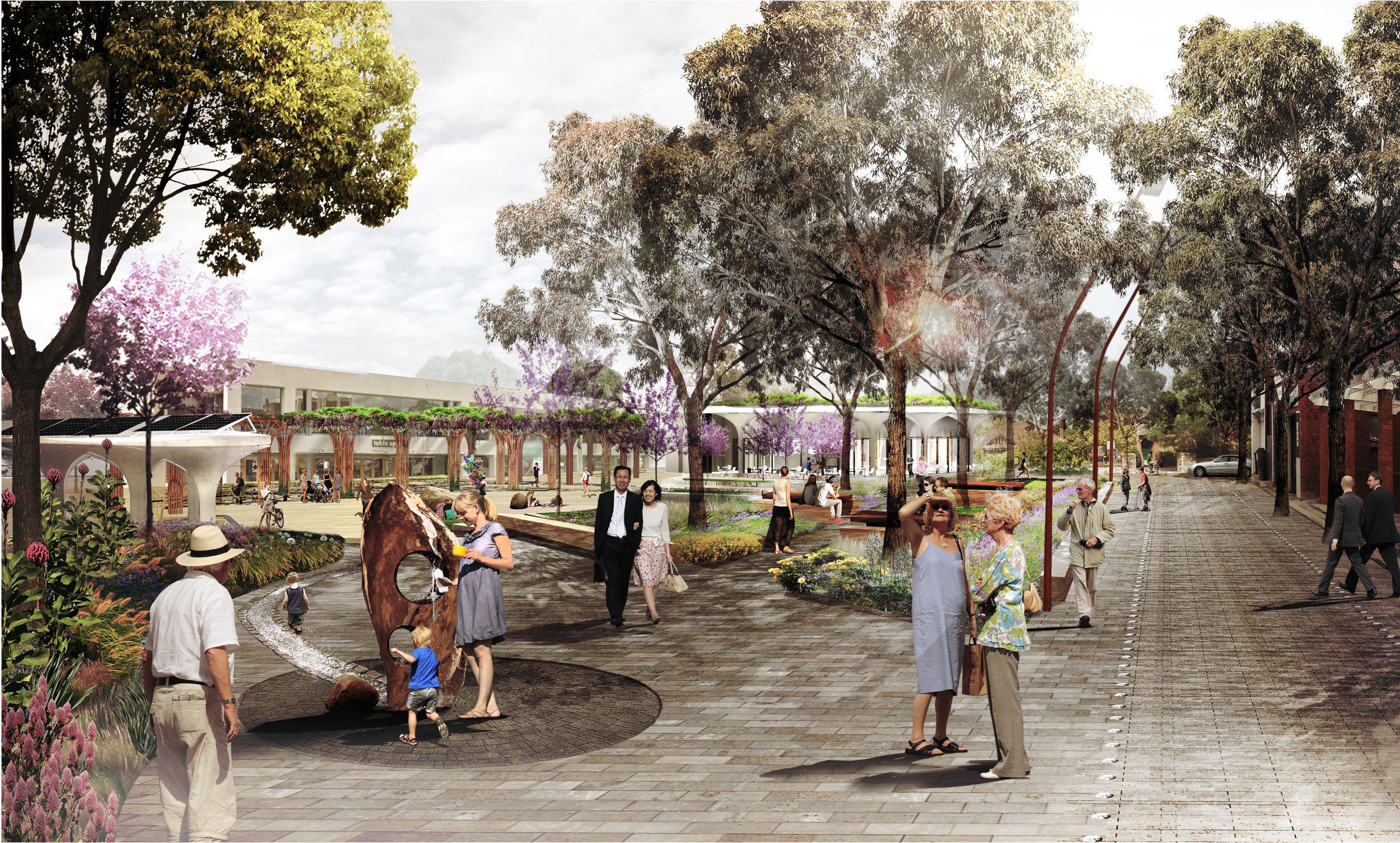 LINDFIELD VILLAGE GREEN | Lindfield, Sydney