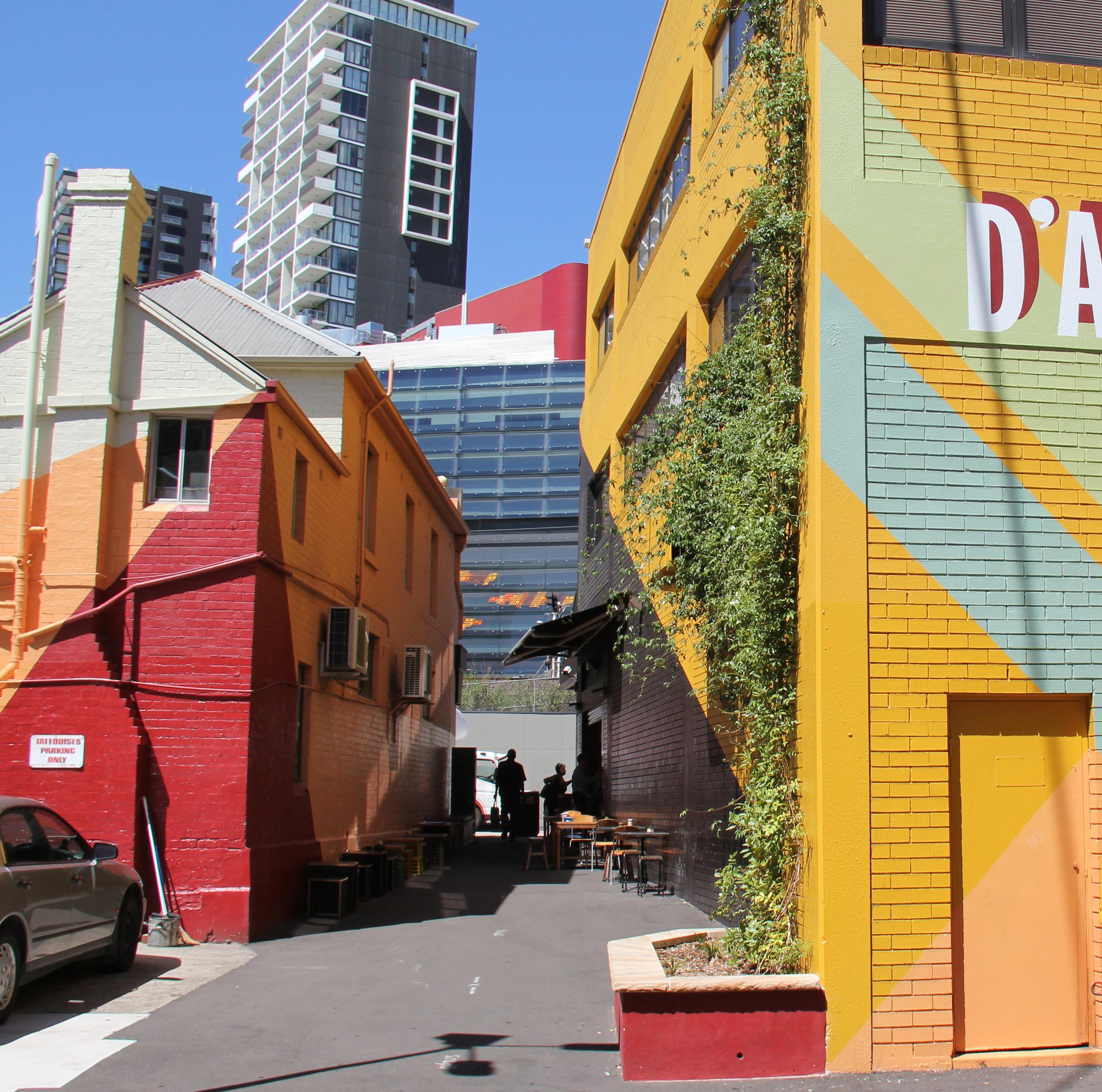DARCY STREET &LANEWAY | Parramatta, Sydney