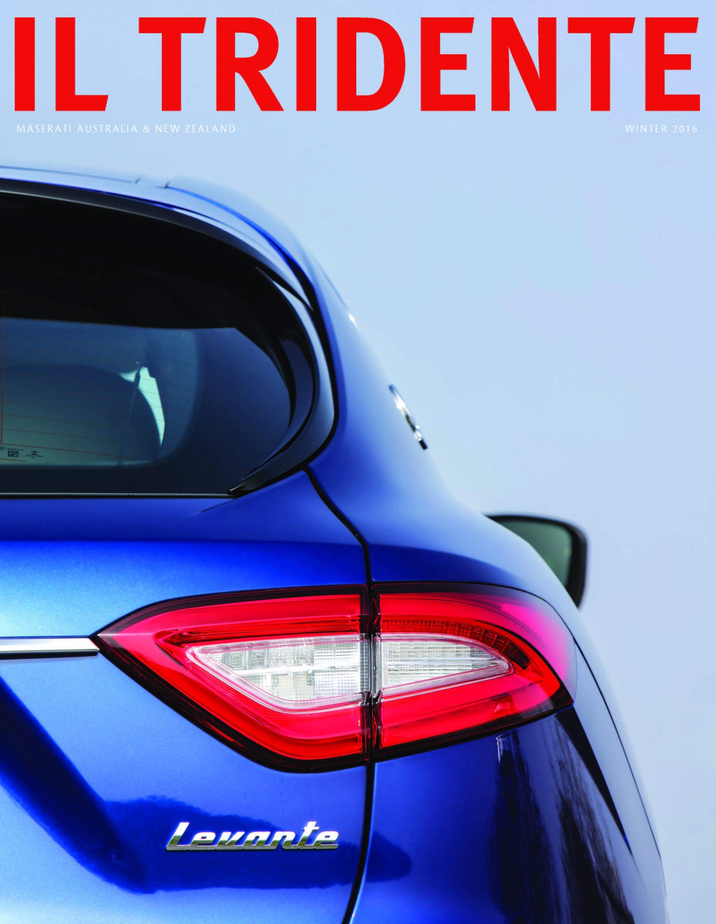 JULY 2016  | 'INSIDE LINE' - IL TREDENTE MAGAZINE