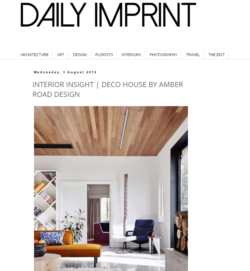 JULY 2016  |DAILY IMPRINT - DECO HOUSE