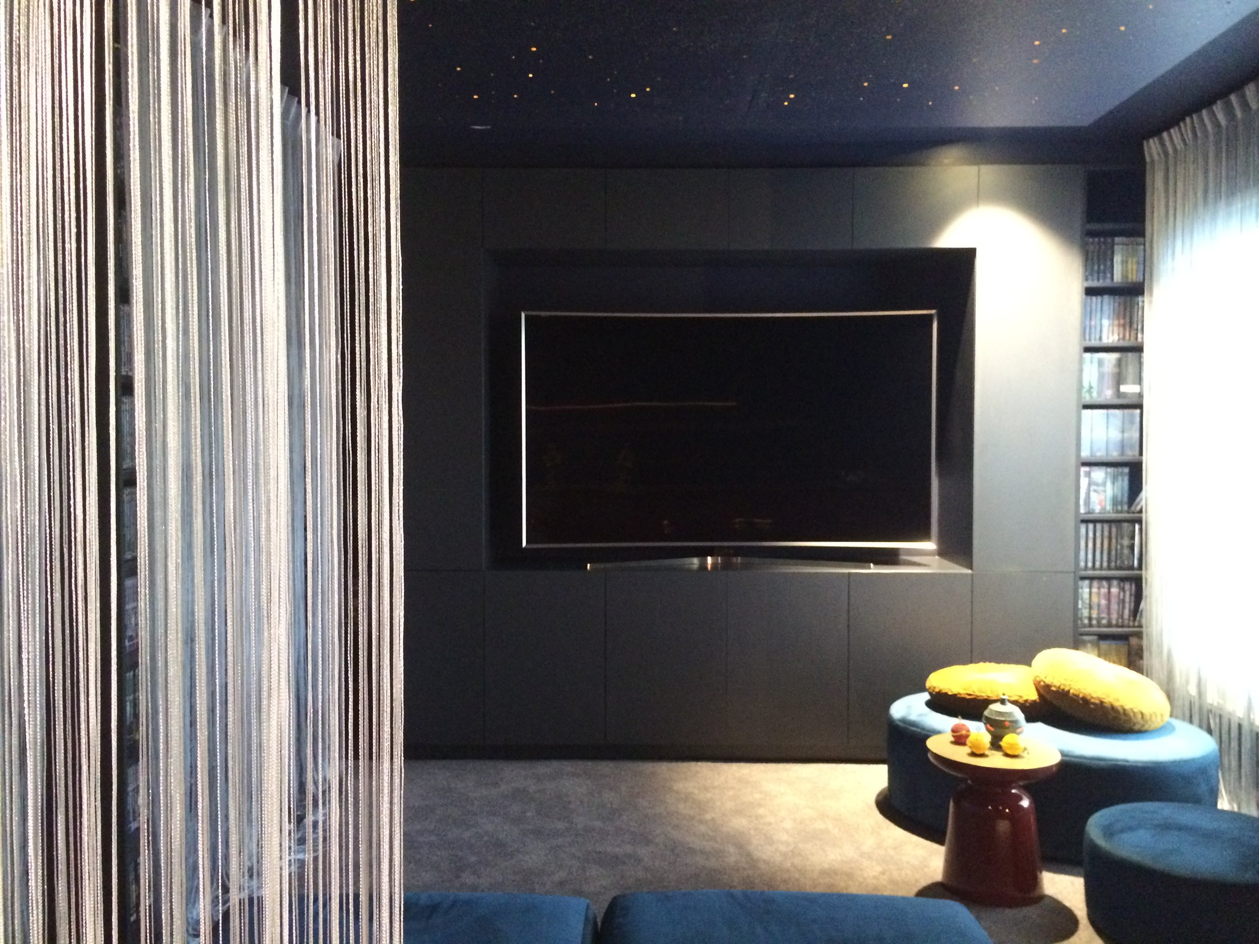 CUSTOM JOINERY | TV and storage