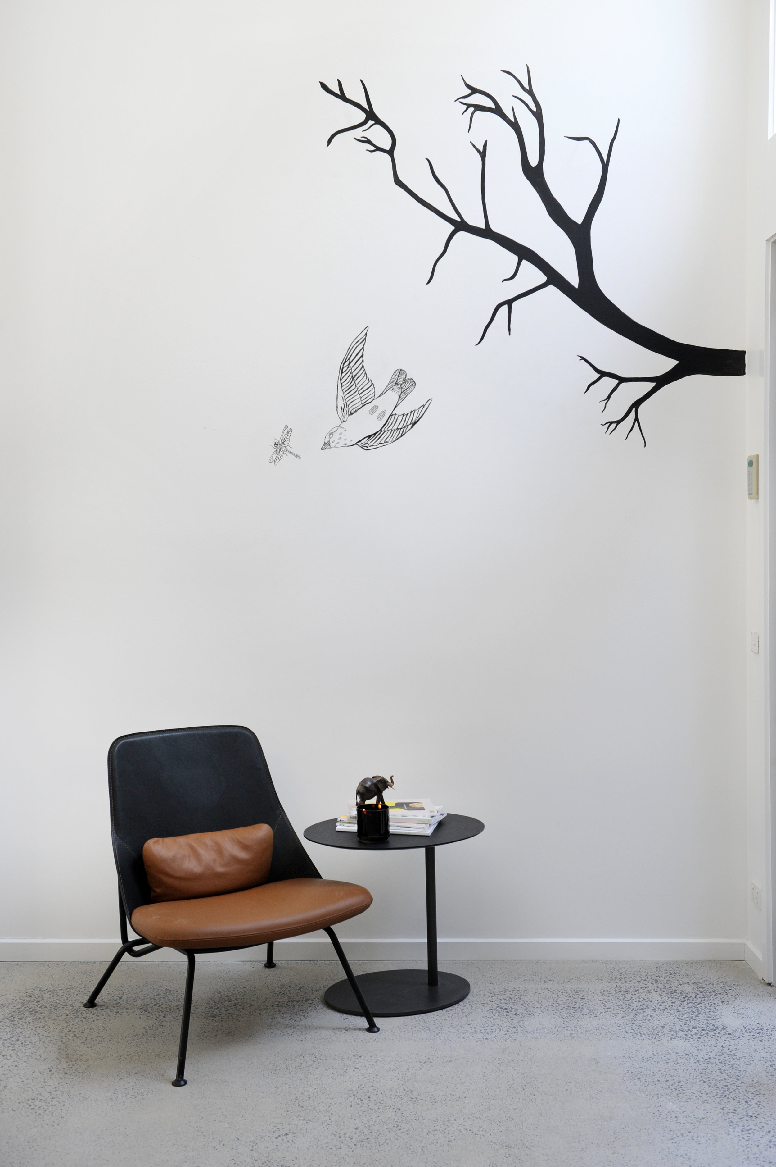 INDOOR | Illustrative artwork by Tessa McDonnell showing it's extent into the indoor areas