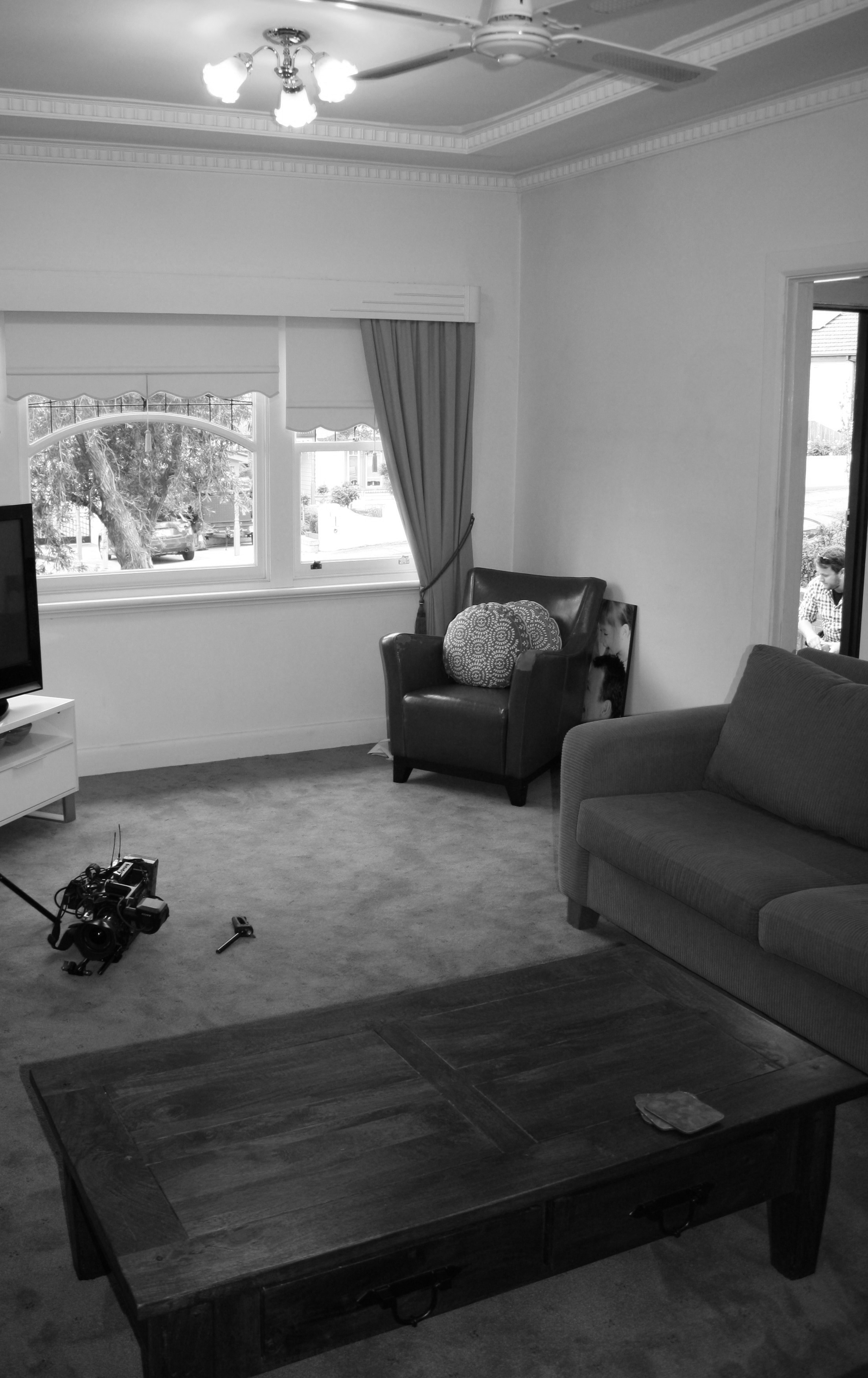 BEFORE |  Lounge Rm