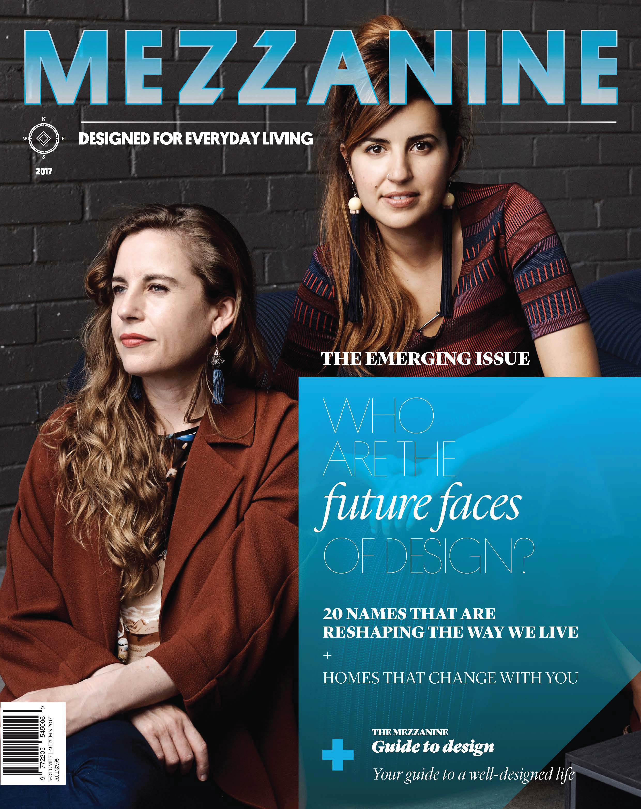FEBRUARY 2017  | MEZZANINE MAGAZINE - AMBER ROAD FEATURED AS PART OF THE FUTURE FACES OF DESIGN