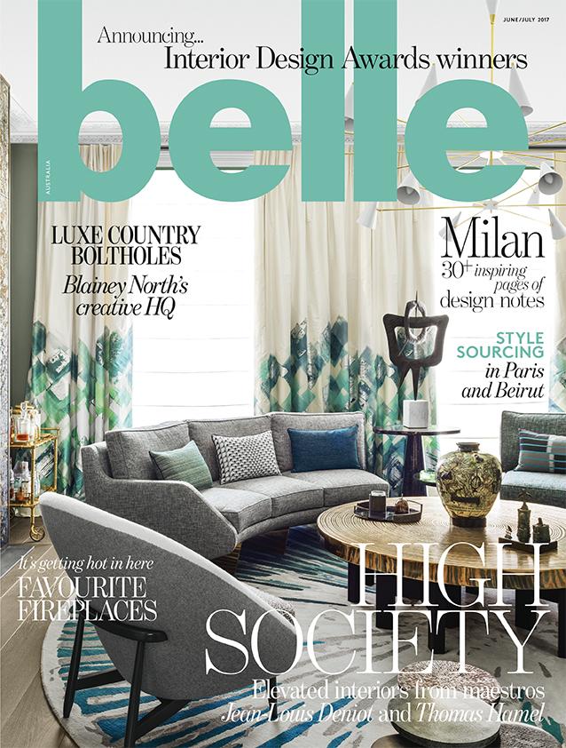 MAY 2017  | BELLE MAGAZINE - INTERIOR DESIGN AWARD WINNERS