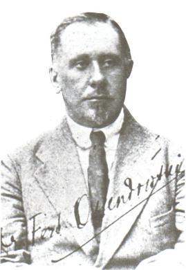 Polish explorer Ferdinand Ossendowski