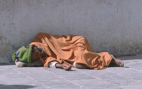 The homeless.