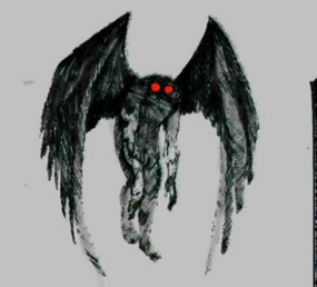 Artist's Conception of Mothman
