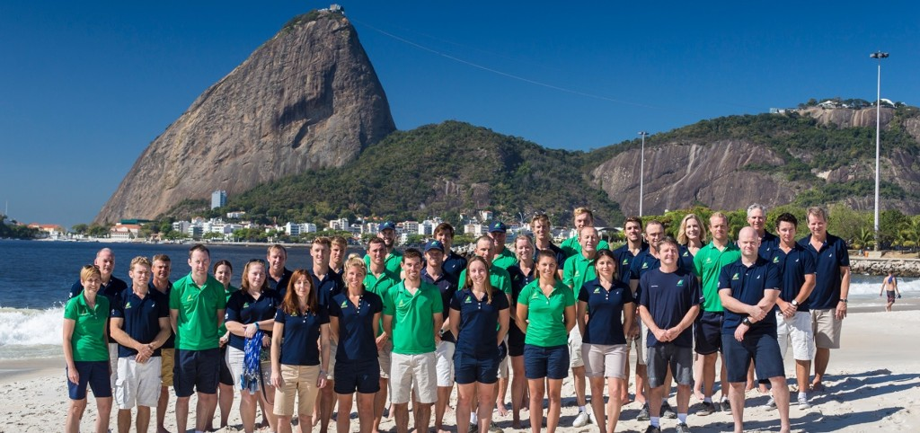 Australian SAiling Team and support STaff