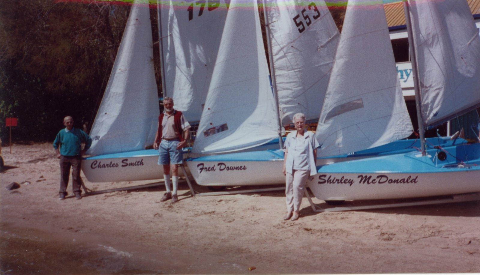 MSC Corsairs and Life Members, 1990