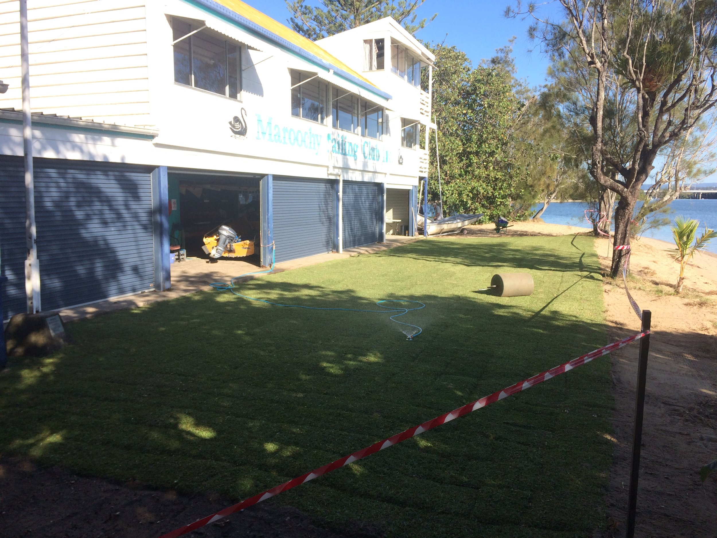 New rigging lawn, 2017