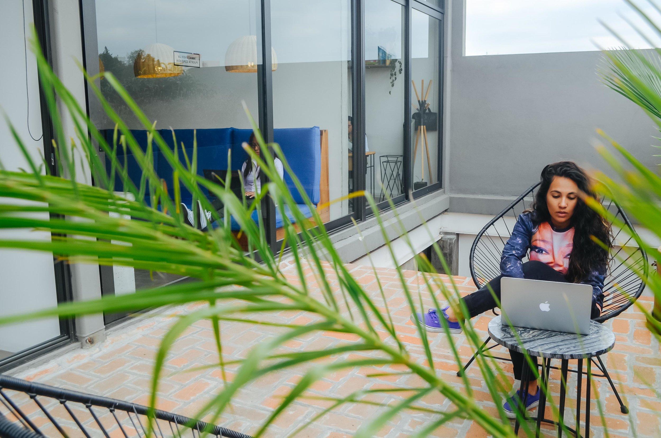At Coworking Space: Publico Trabajo in Mexico City