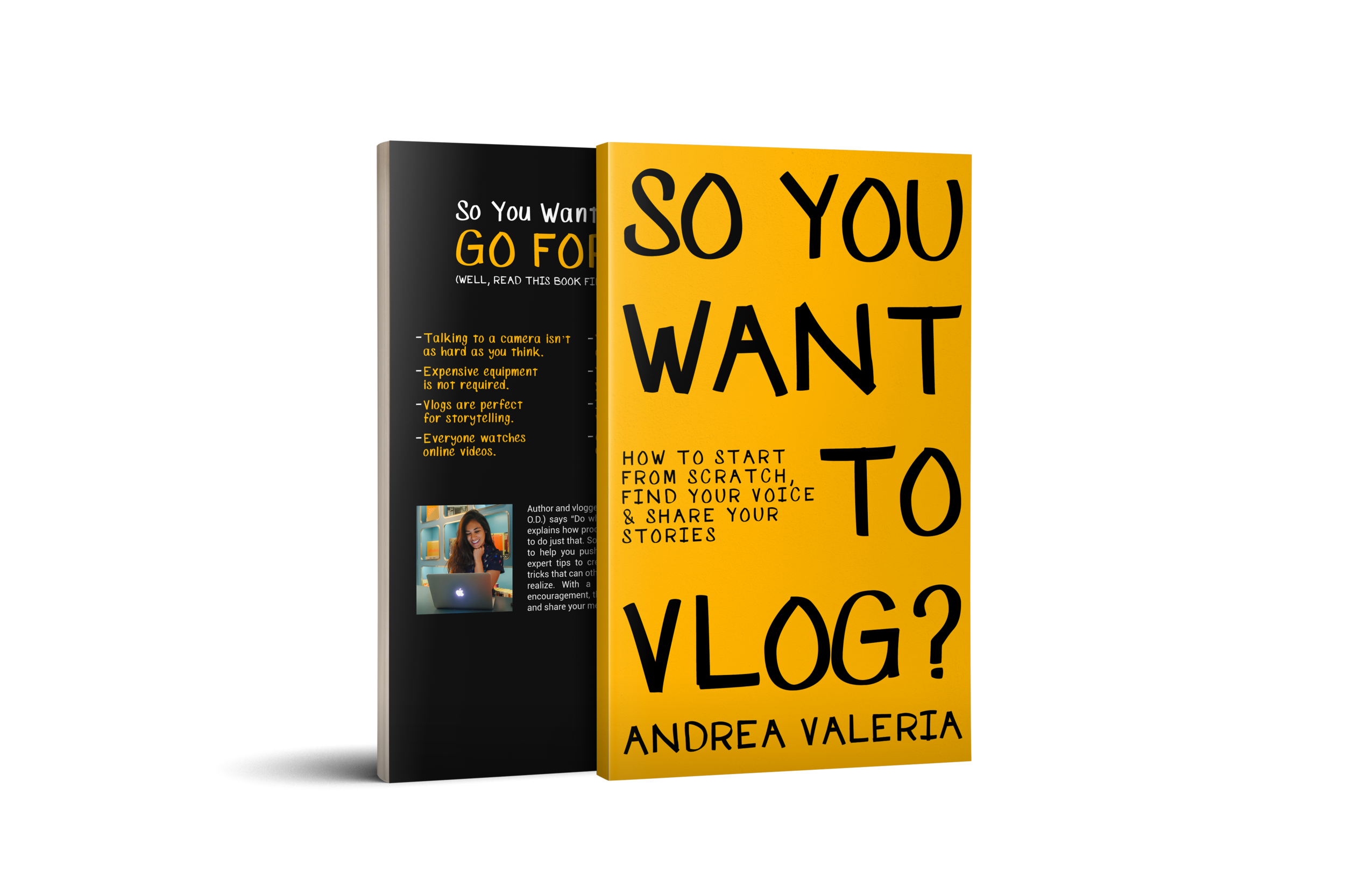 so you want to vlog, how to vlog, become a vlogger, start a vlog, andrea valeria, it's a travel o.d.