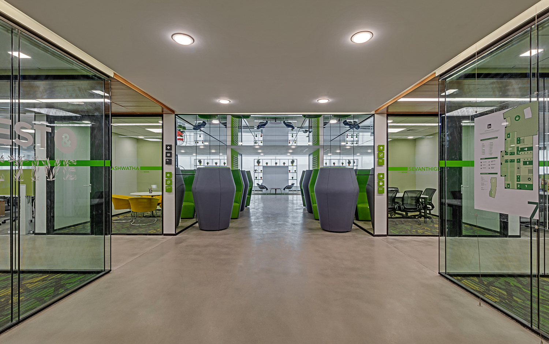 Linkedin-Bangalore-Office-Greenhouse-Bhushanraj
