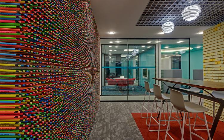 Linkedin-Bangalore-Office-Library-Bhushanraj