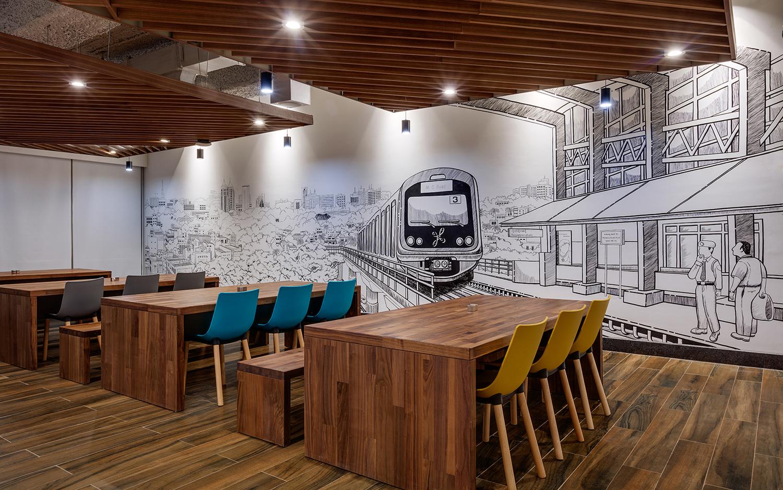 Linkedin-Bangalore-Office-Mural1-Bhushanraj