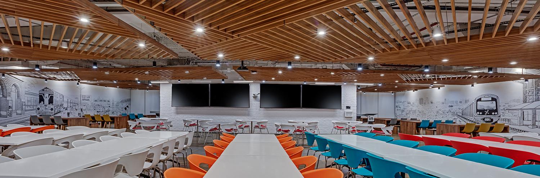 Linkedin-Bangalore-Office-All-Hands-Cafeteria-Bhushanraj