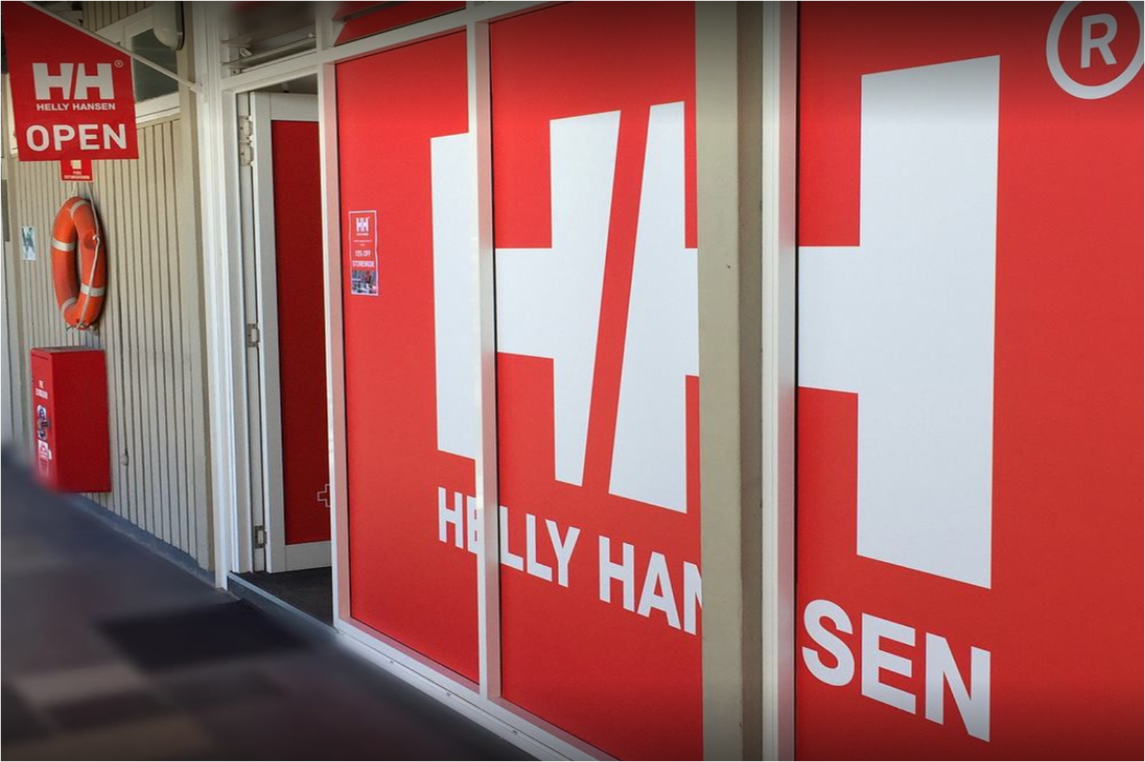 Helly Hansen SHOP @ MIDDLE HARBOUR