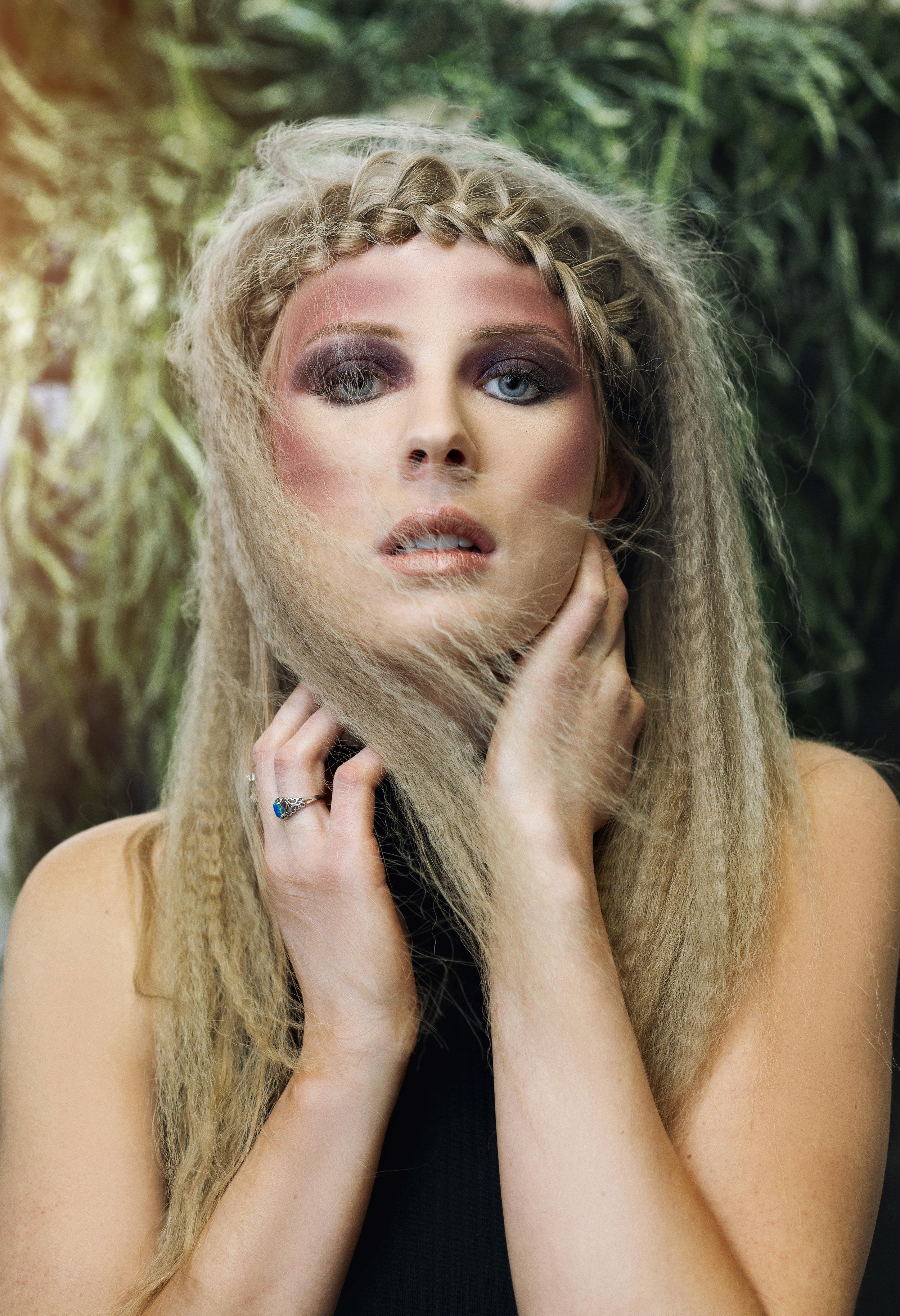 Regan Allred (HMUA: Rebekah Fuhriman)
