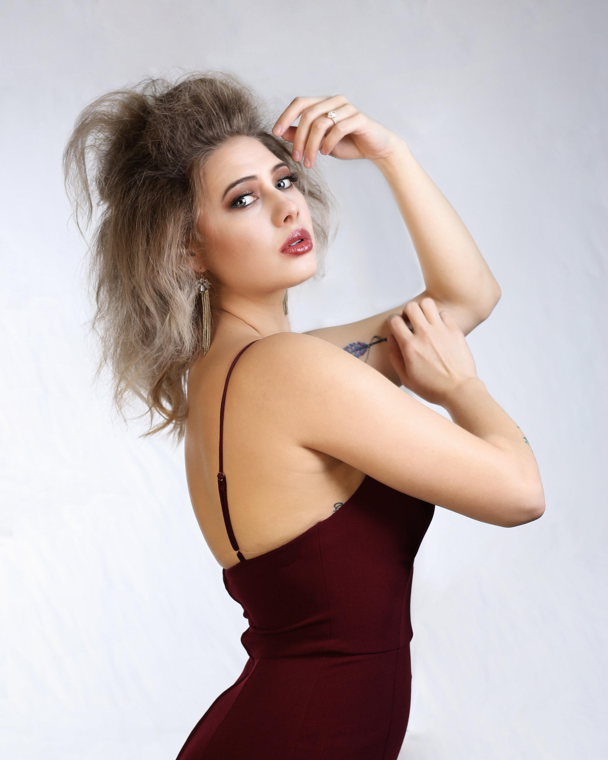 Ajahnique Jisel (HMUA: Rebekah Fuhriman)