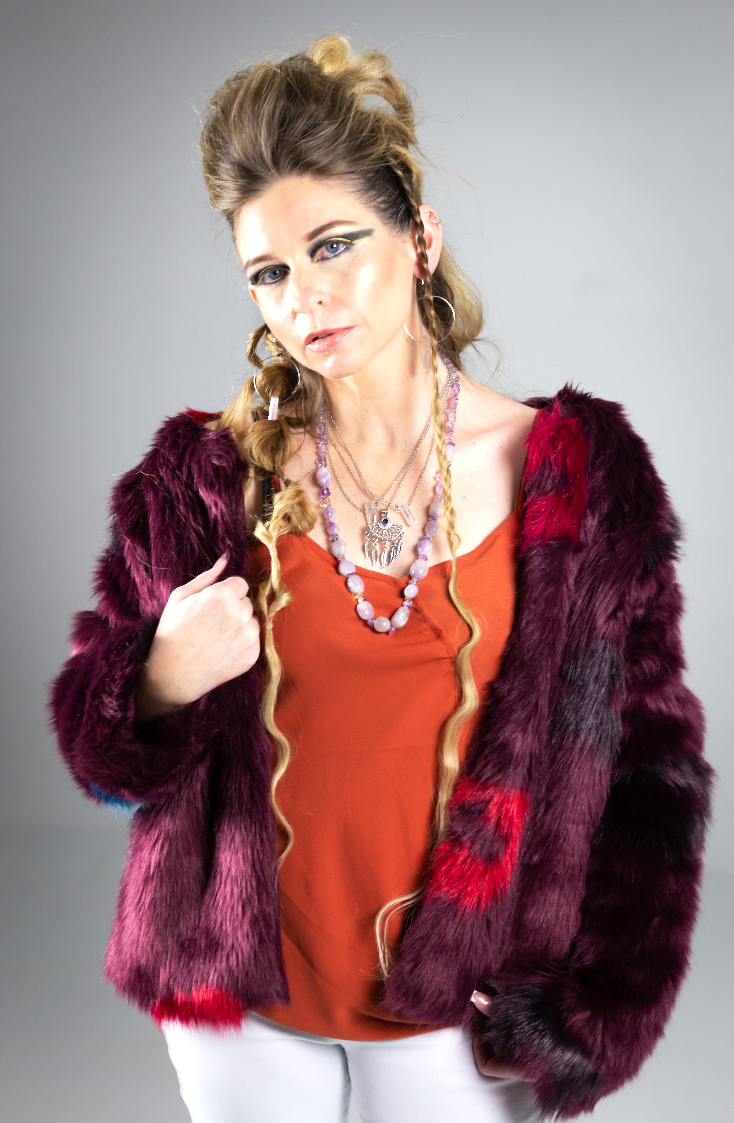 Tina Lundquist (HMUA: Tiffani Chante)