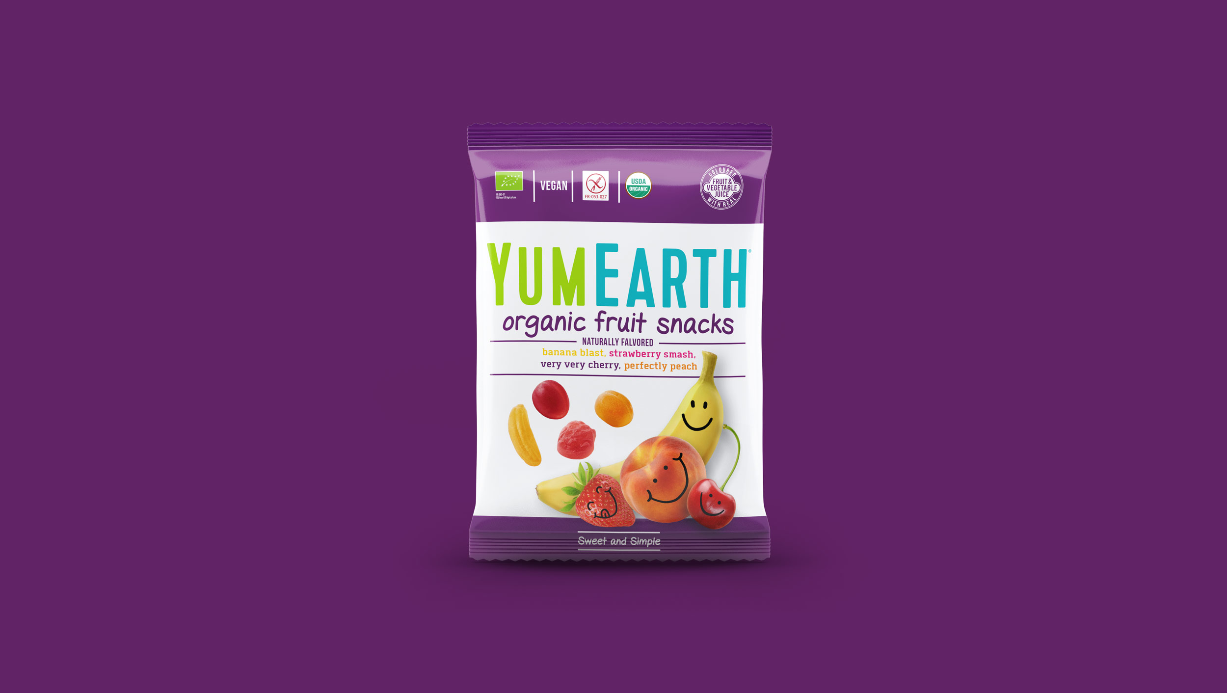 BetterCandy YumEarth Organic Fruit Snacks