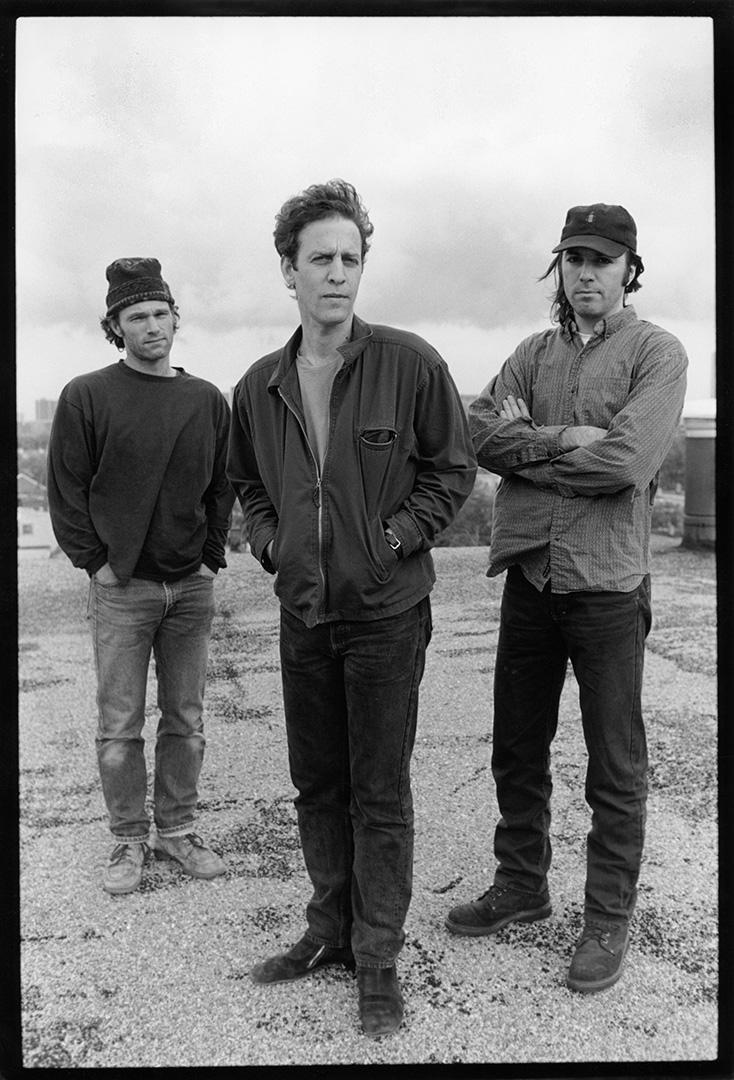 "Mark Sandman (center) with ""Morphine"""