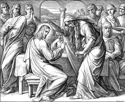Mary-anoints-Jesus Julius-Schnorr-von-Carolsfeld / Photo thanks to–  povcrystal.blogspot.com