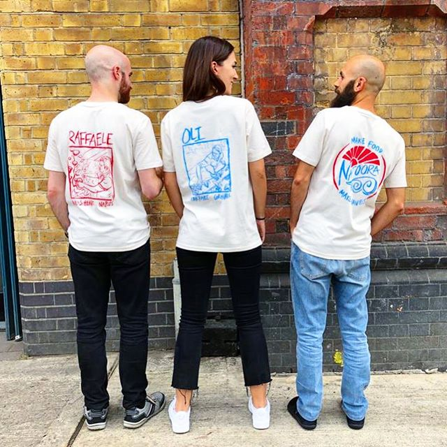 New T-shirt designs for @natoora - highlighting our superstar growers that will be making appearances with us at upcoming events. . . . All illustrations hand painted with ink and screen printed onto organic cotton T's. . . . #tshirtdesign #screenprint #inkdrawing #handlettering #illustration #organic #design #graphicdesign #freelancedesigner #londondesign #branding #painted #bespoke #apparel