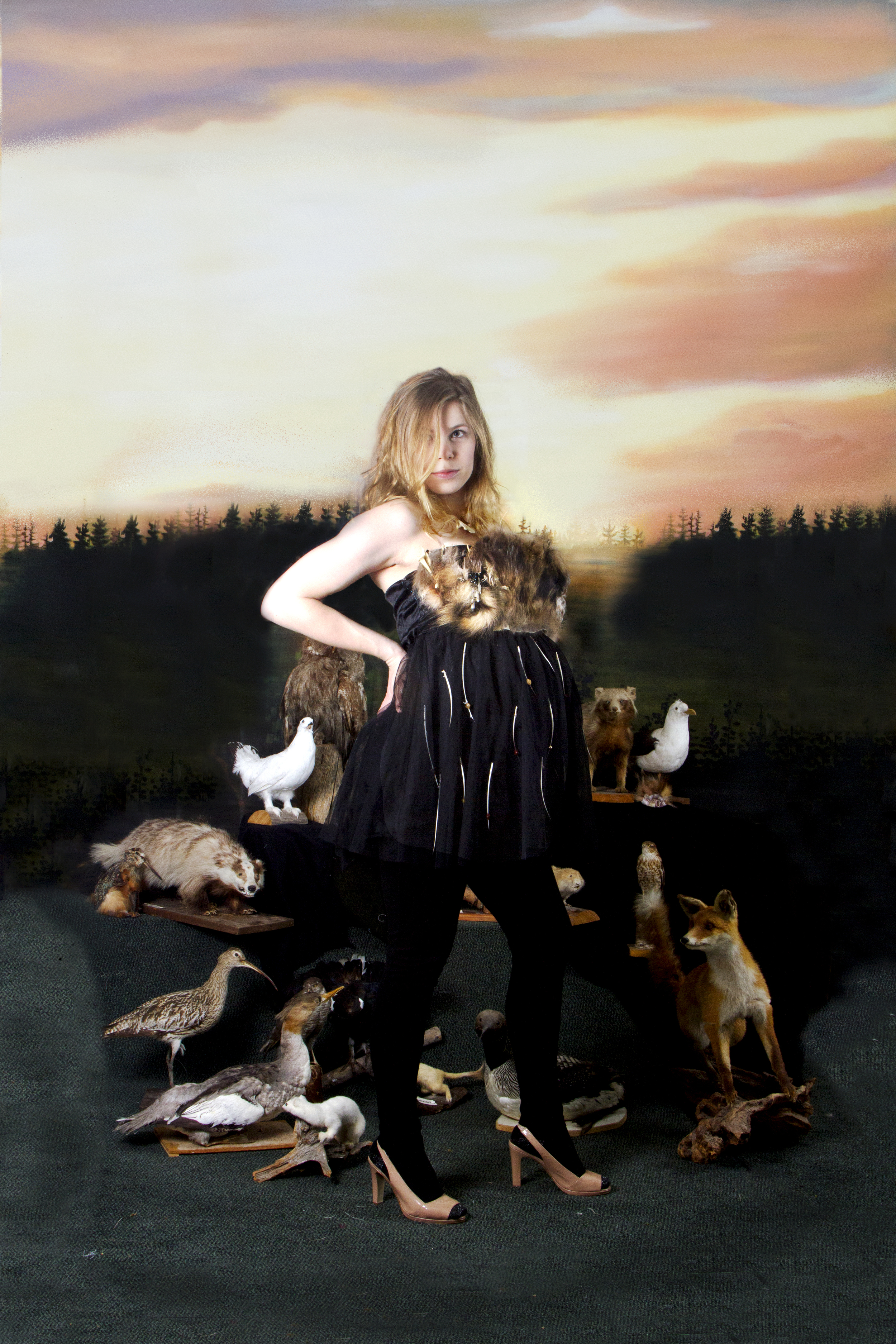 Route Couture: Animadonna, 2016, Karoliina Paappa (Malli: Liisa Kangasmäki)