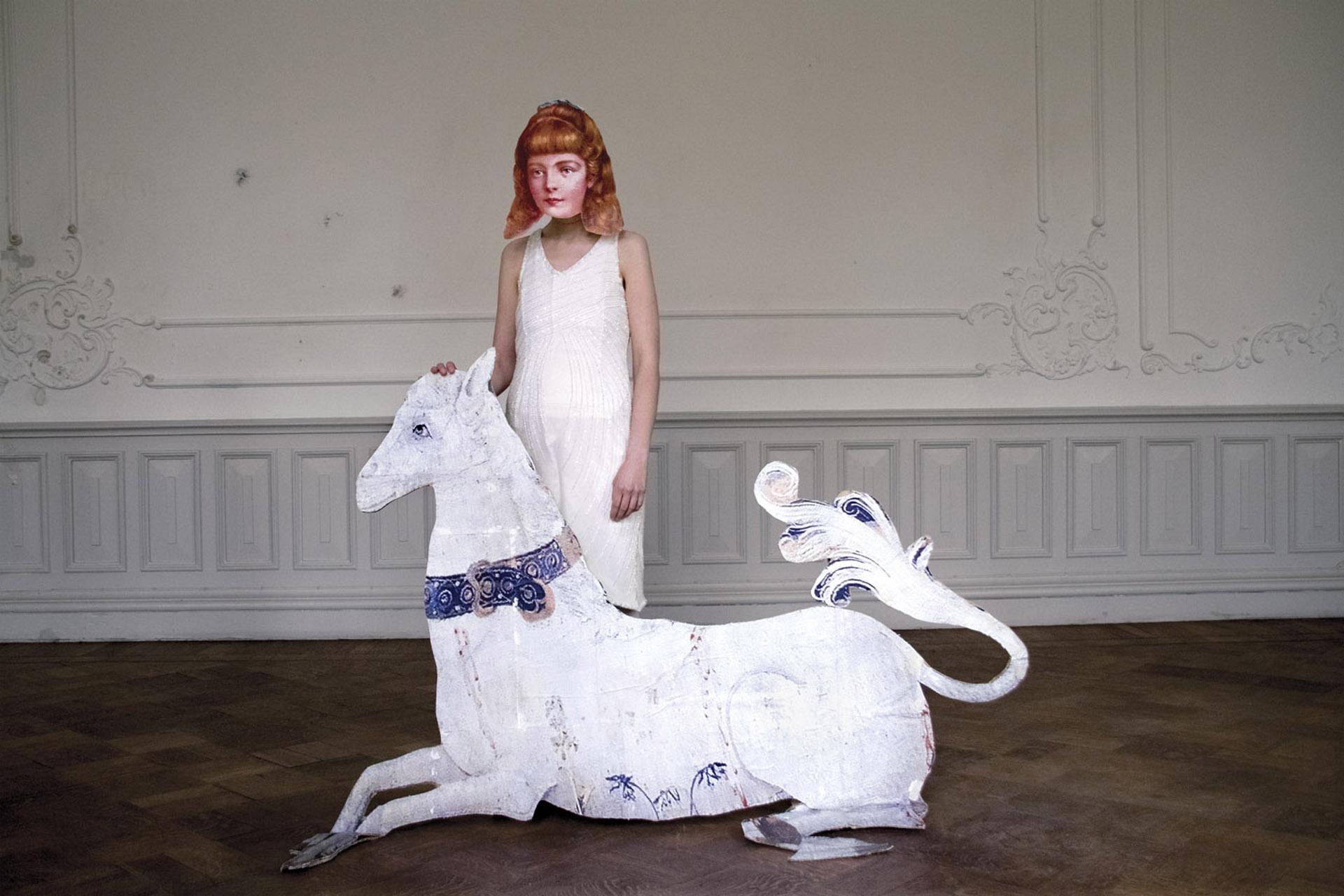 Series: Milavida, Girl and the White Horse, 2012. 75cm x 50cm + 2 AP. E.D 2/5. 30cm x 45cm E.D. 2/5.