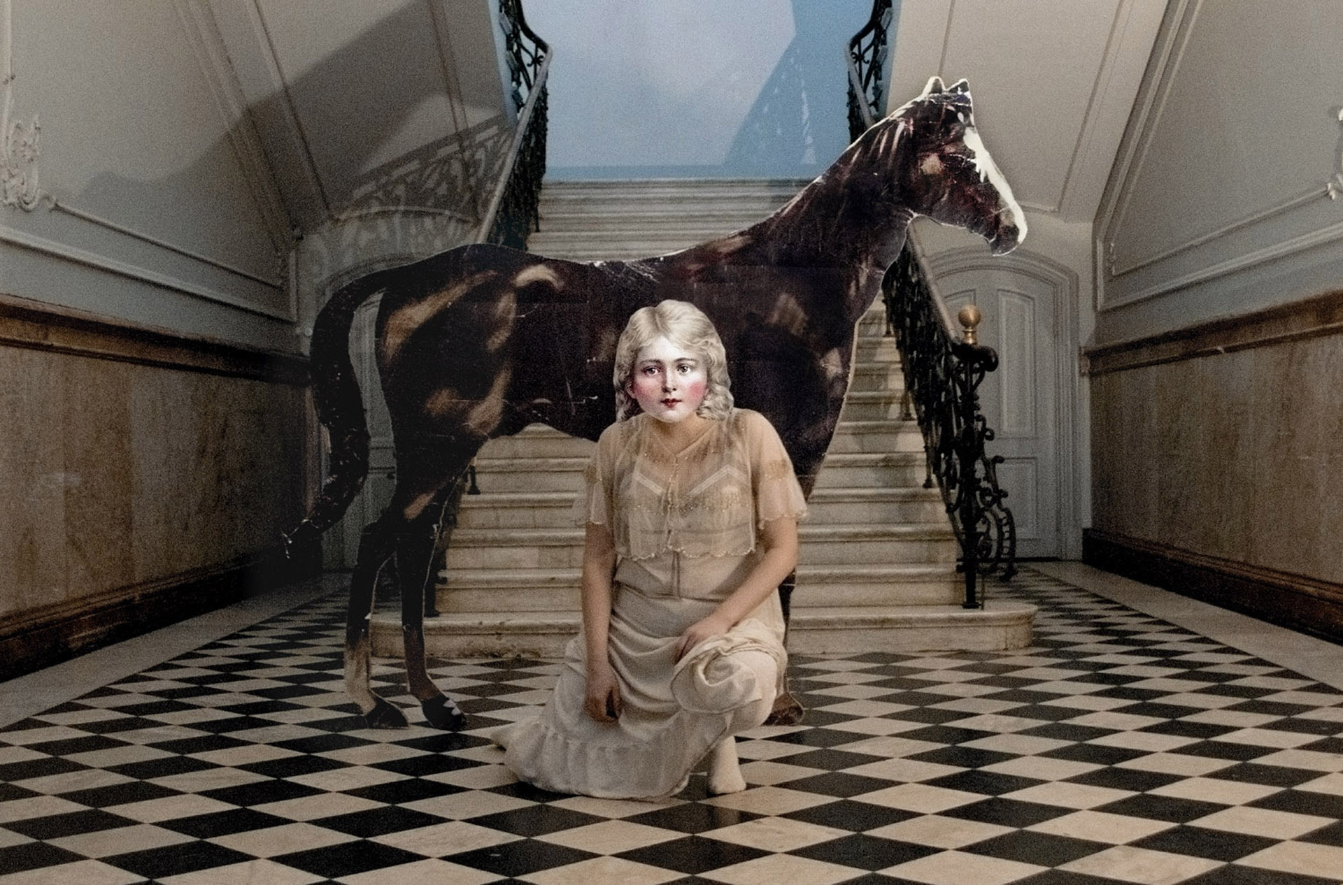 Series: Milavida, Girl and the Horse, 2012. 70cm x 47cm E.D 2/5 + 2 AP. 45cm x 35cm E.D 1/5.