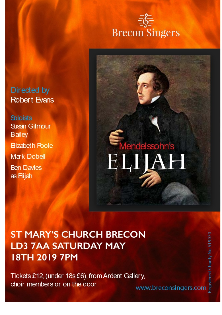 Mendelssohn Elijah - Click here to reserve your ticket today for this popular concert