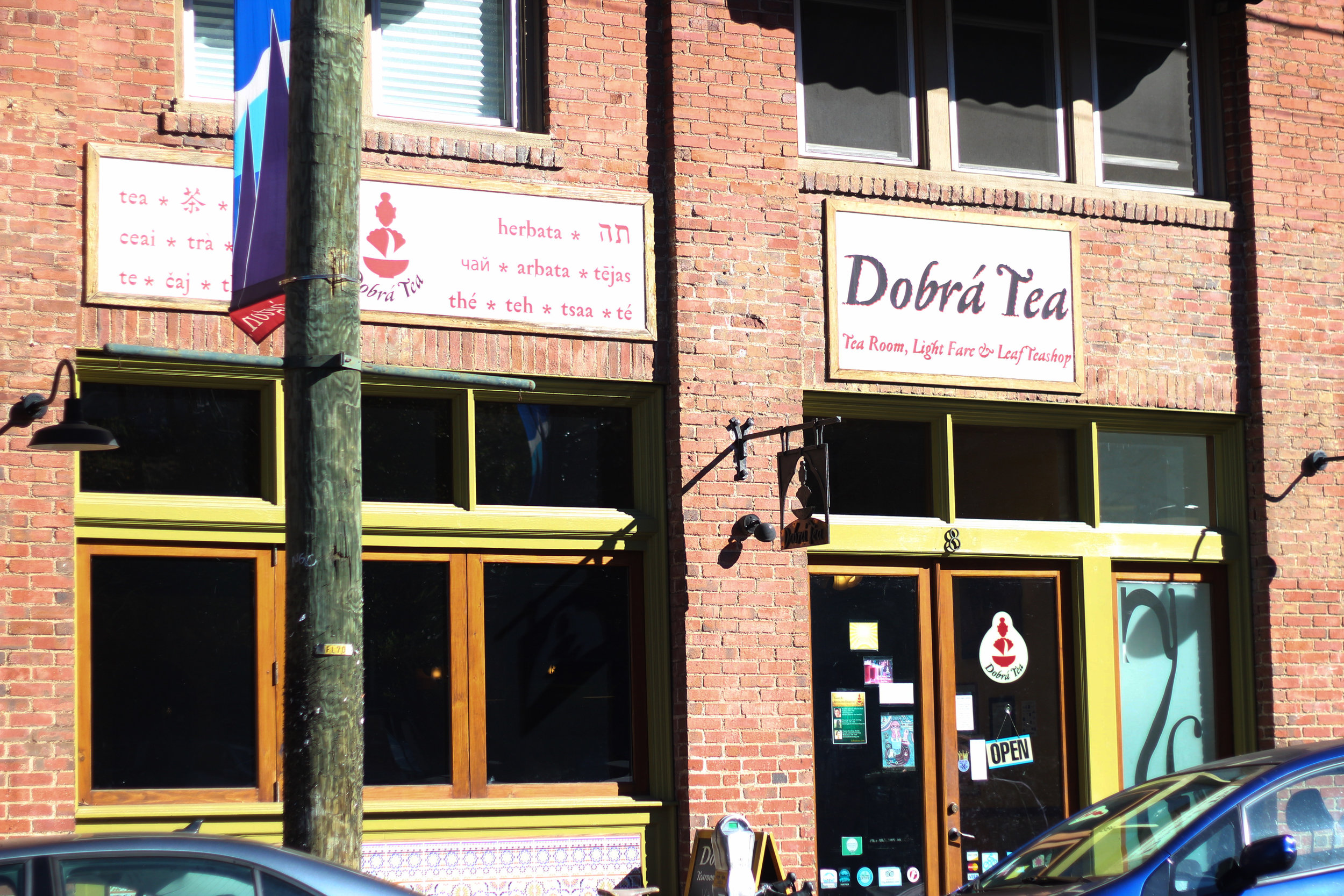 Dobra Tea, Asheville, Weekend travel guides