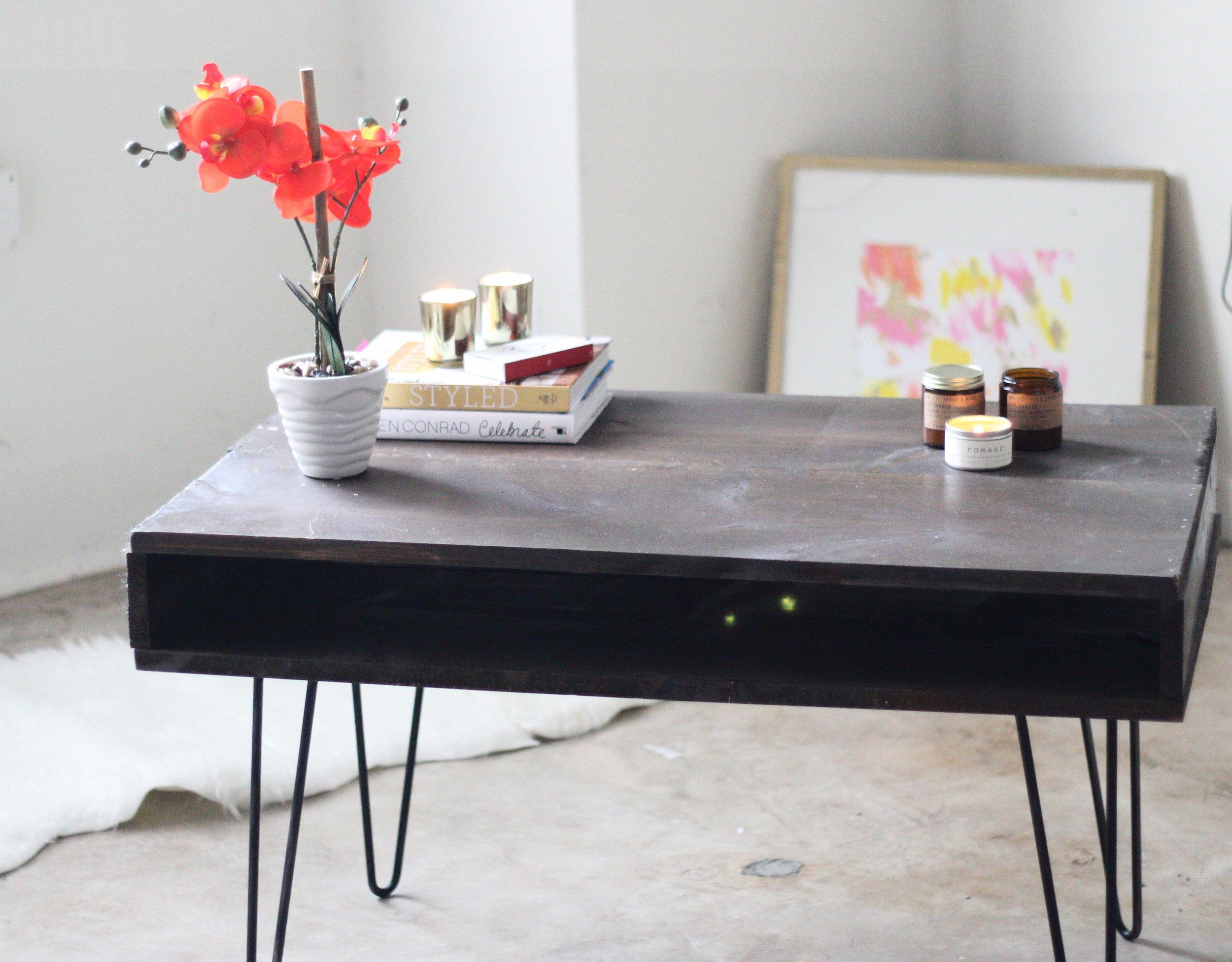 west elm coffee table hack