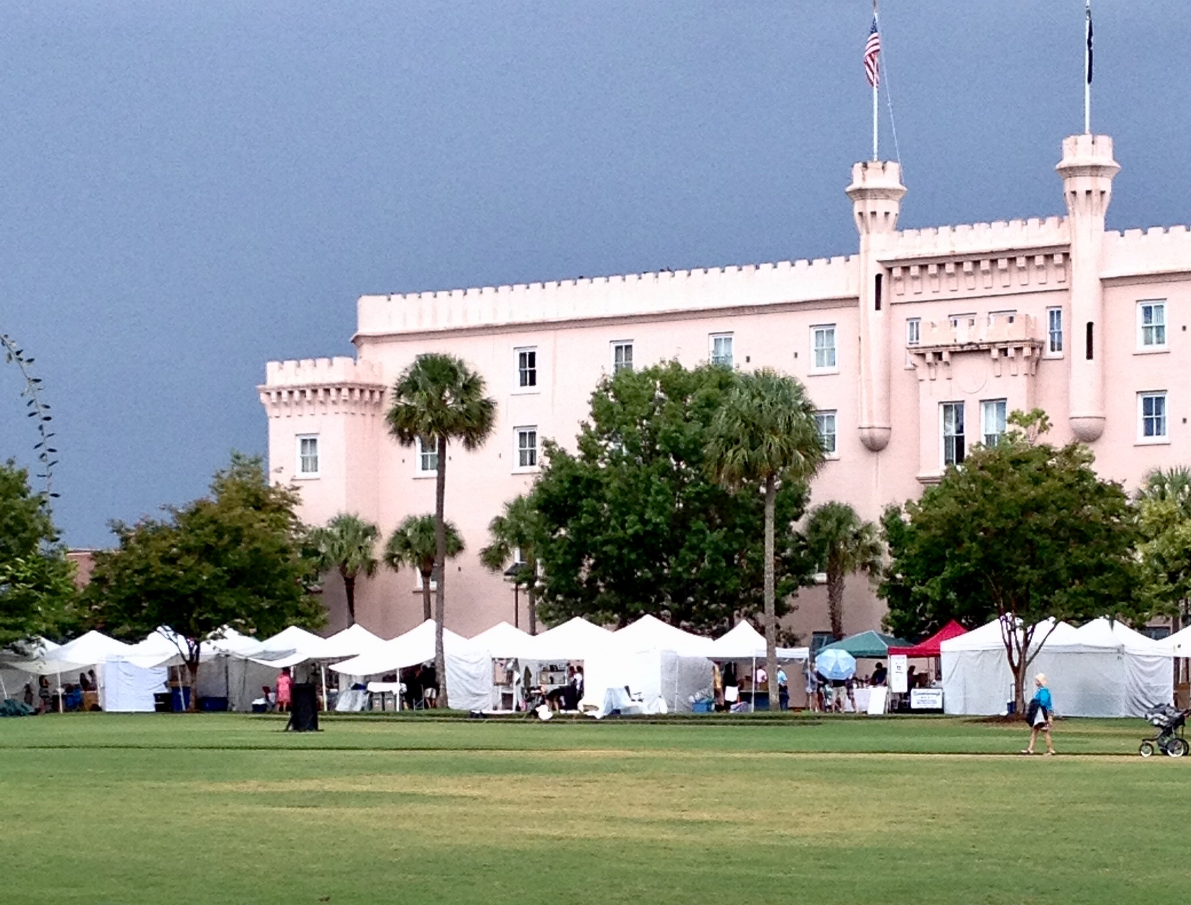 Farmer's Market on Camille weekend guide to Charleston