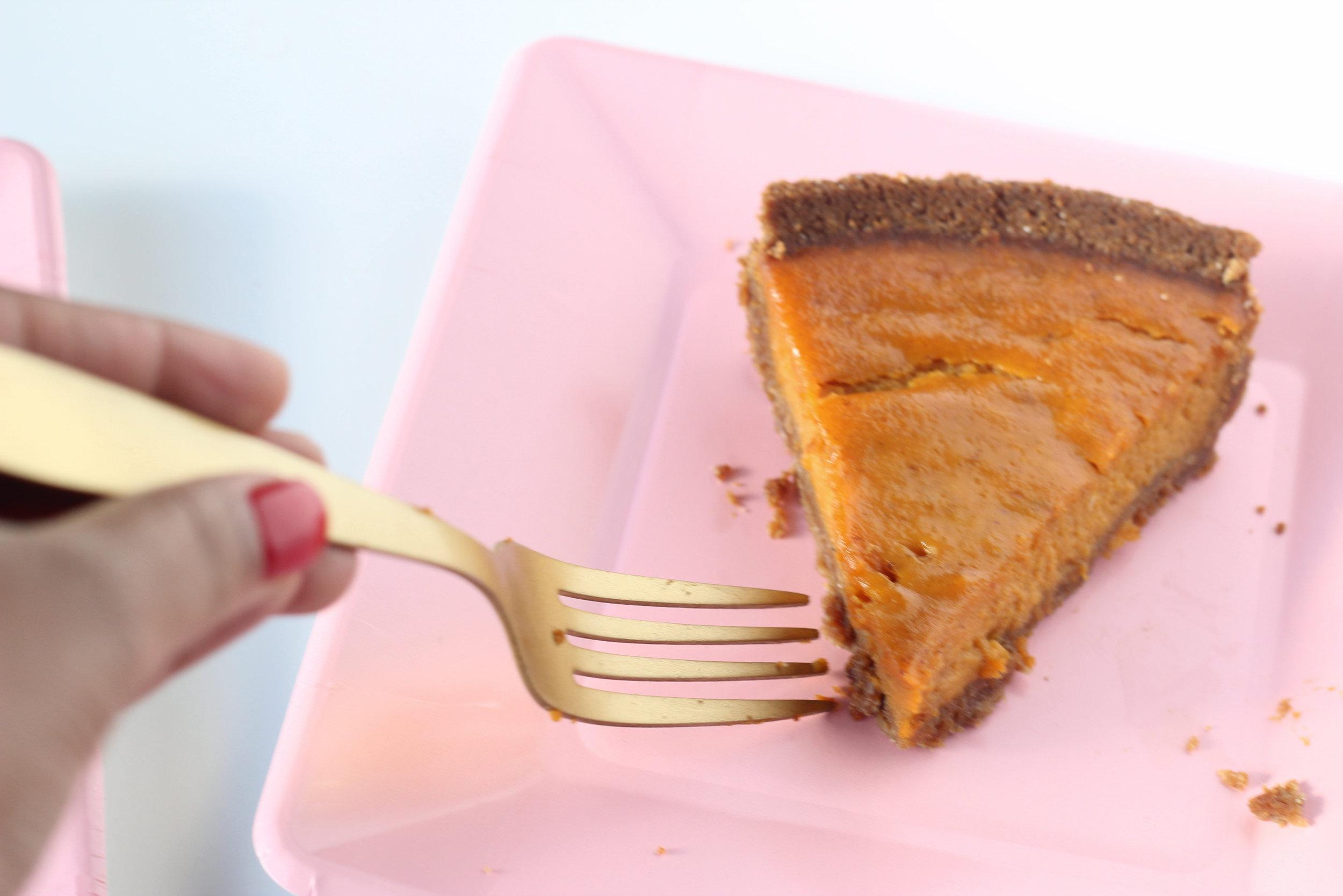 Dairy Free Easy Pumpkin Pie on Ballad of Bright
