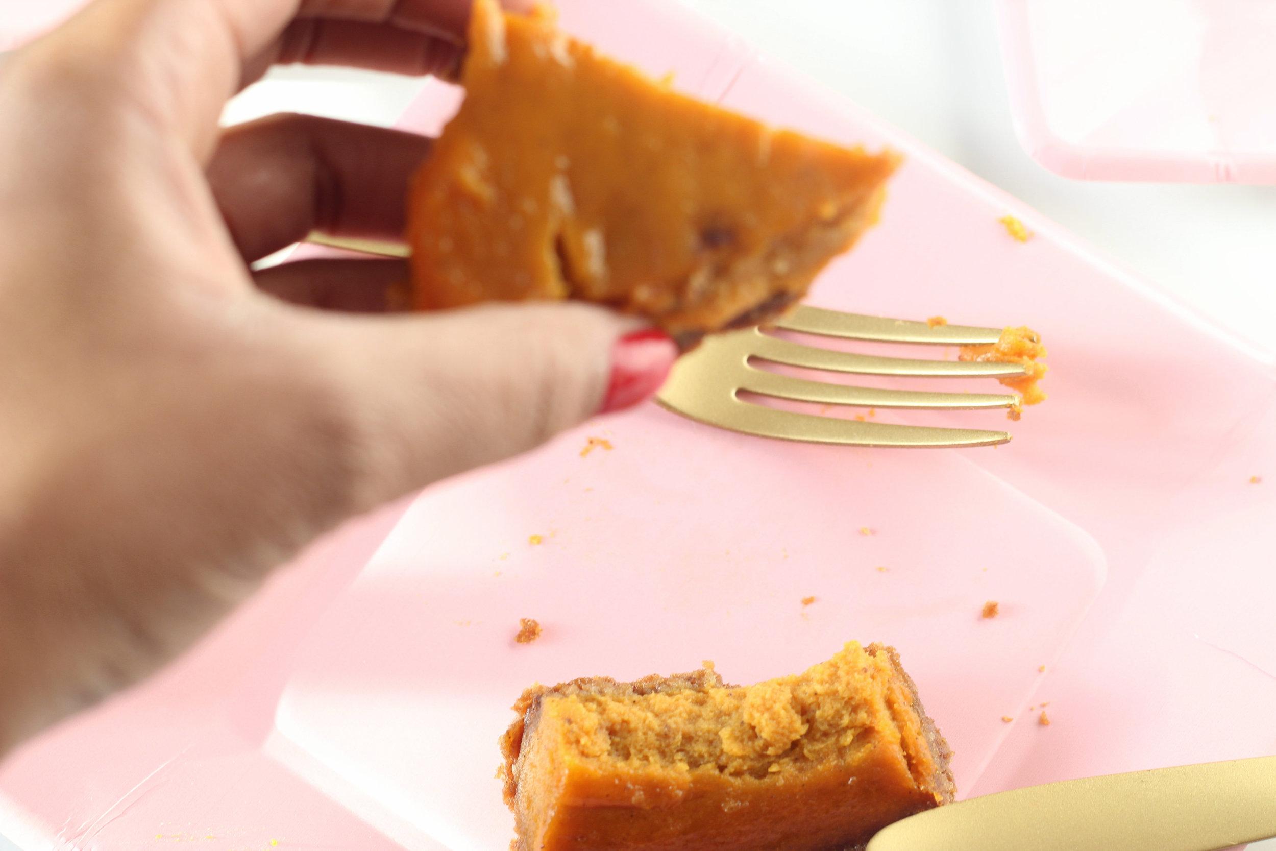 Easy Dairy Free Pumpkin Pie on Ballad of Bright