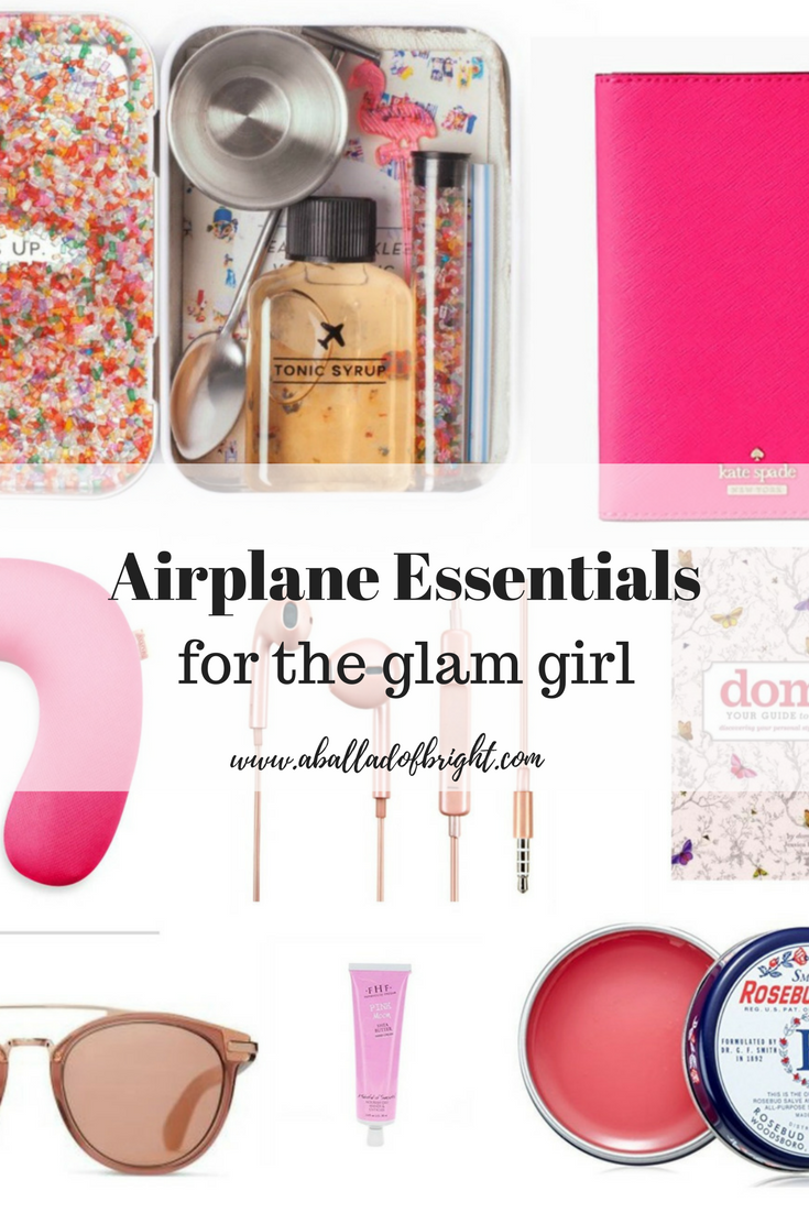 airplane essentials, travel essentials