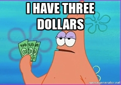 Me trying to afford some free time.