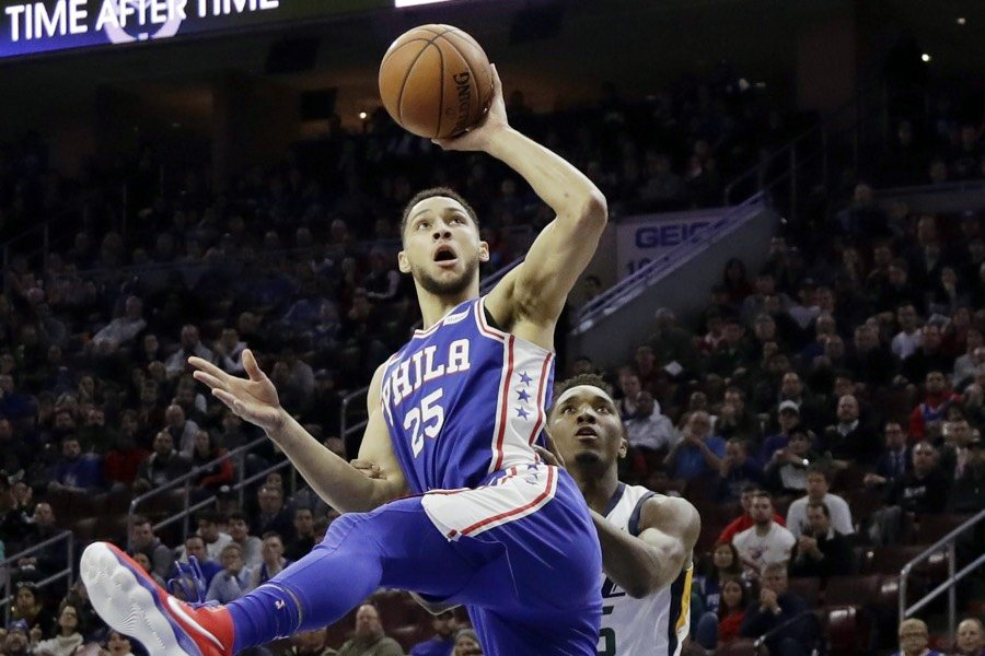 (Photo Credits:  Philly Mag ) Simmons and Mitchell went at it in their rookie campaigns